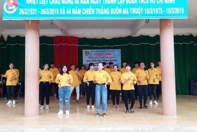 CUỘC THI NHẢY HIỆN ĐẠI CHÀO MỪNG NGÀY THÀNH LẬP ĐOÀN TNCSHCM 26/03/2019